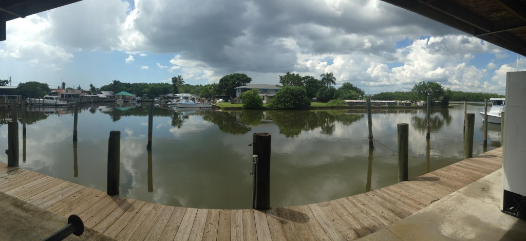 Panorama view of Buzzard's Bay